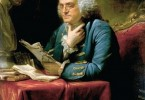 Benjamin Franklin by David Martin (1737-1797). Oil on canvas, 1767. Pennsylvania Academy of the Fine Arts, Philadelphia
