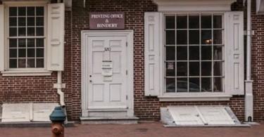 Franklin Court Prinitng Office