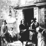 Benjamin Franklin's printing shop.