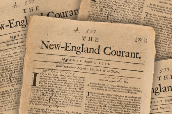 benjamin franklin the printer benjamin franklin history the new england courant was founded in 1721 by james franklin it ceased publication in