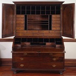 William Penn desk from the Library Company Collection. Penn was one of the most important benefactors.