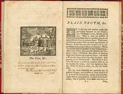 Benjamin Franklin, Plain Truth: or, Serious Considerations on the Present State of the City of Philadelphia, and Province of Pennsylvania, published in 1747