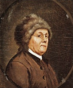 Franklin charmed the French as a new world genius.