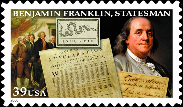 Franklin began his career as a postmaster general in 1737 and was dismissed in 1774.
